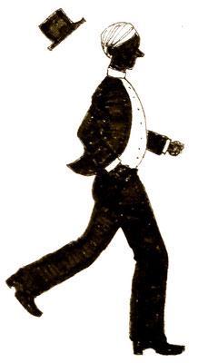 普段運動しない人間を念頭に描き直したもの。小走り…? いいえ、彼の全力疾走です。