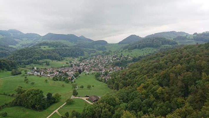 Ausblick von der Ruine Rifenstein
