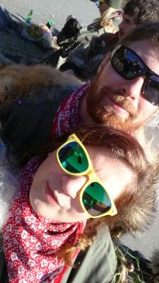 Neue Errungenschaft von Melinda: nein, nicht der Gnom - die Scarnuzzer-Brille!