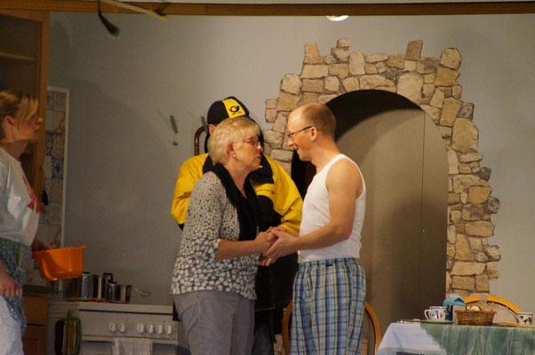 """""""Hallo Piet, ik schall di scheun von Insa greuten."""""""