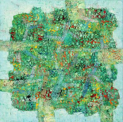 SILVA I  - oil on canvas - 50 x 50 cm