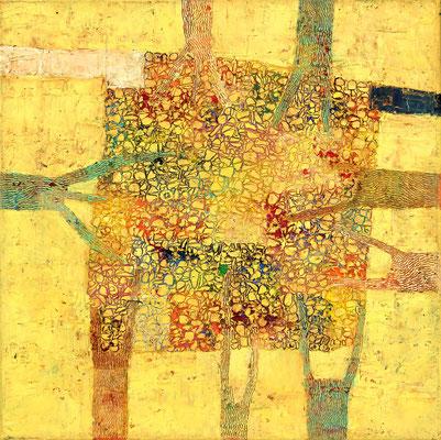 SILVA I  - oil on canvas - 40 x 40 cm