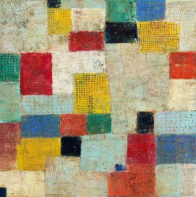 URBS  - oil on canvas - 40 x 40 cm