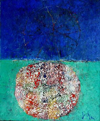 AGER III - oil on canvas/Öl auf Leinwand - 60 x 50 cm