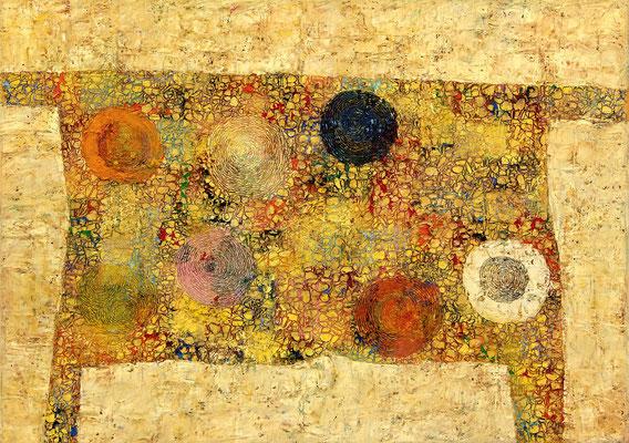 MENSA  - oil on canvas - 50 x 70 cm