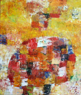 Paesaggio VI - oil on canvas/Öl auf Leinwand - 140 x 120 cm