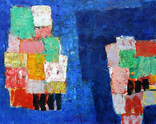 Paesaggio IV - oil on canvas/Öl auf Leinwand - 80 x 100 cm