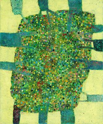 SILVA III  - oil on canvas - 60 x 50 cm