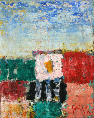 Paesaggio III - oil on canvas/Öl auf Leinwand - 50 x 40 cm