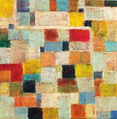 URBS  - oil on canvas - 50 x 50 cm
