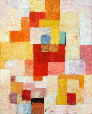 Paesaggio VII - oil on canvas/Öl auf Leinwand - 100 x 80 cm