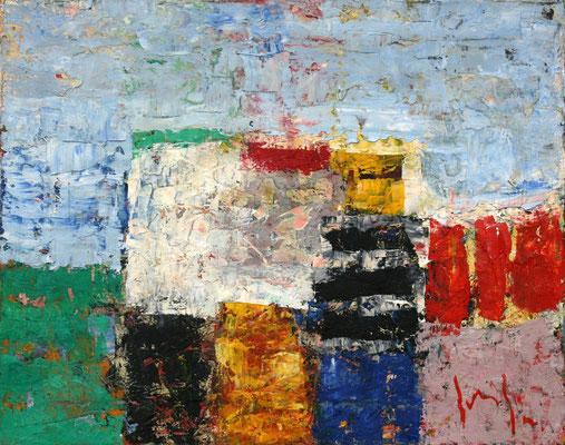 Paesaggio I - oil on canvas/Öl auf Leinwand - 40 x 50 cm