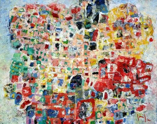 Paesaggio V - oil on canvas/Öl auf Leinwand - 80 x 100 cm