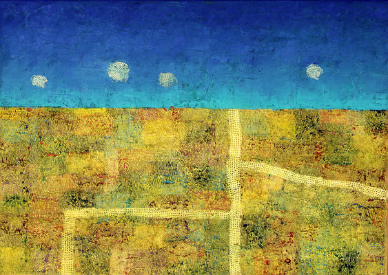 CAMPUS II  - oil on canvas - 50 x 70 cm