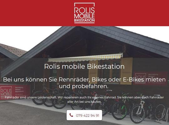 Roli organisiert dir auch eine passende Unterkunft im Bezirk Leuk, er kennt alles, nicht nur die Radtouren VS!
