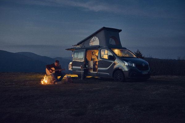 Freiheit mit dem Campingbus Ausbau
