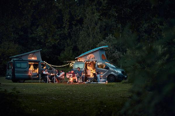 Der Camper Van Ausbau in idyllischer Atmosphäre