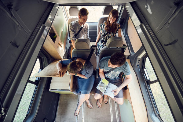 Der Camper Van für die ganze Familie