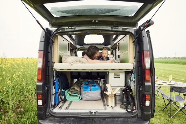 Das Camper Bett für die ganze Familie