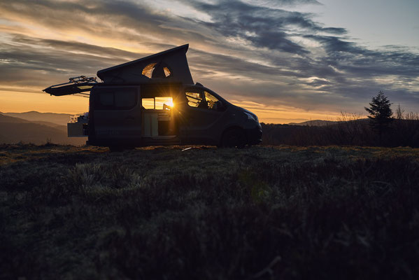 Der Renault Trafic Camper