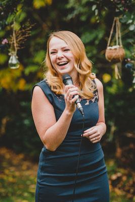 Hochzeitsmoderatorin Kristina Arent