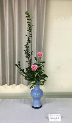 2016.11.3 東月寒3区町内会連合会「文化交流祭」 例年恒例となっている作品展です。Kumikoさんの作品です。