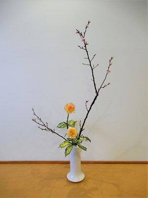 2020.2.17 <桜 カーネーション ゴッドセフィアナ>Natsumiさんの作品です。