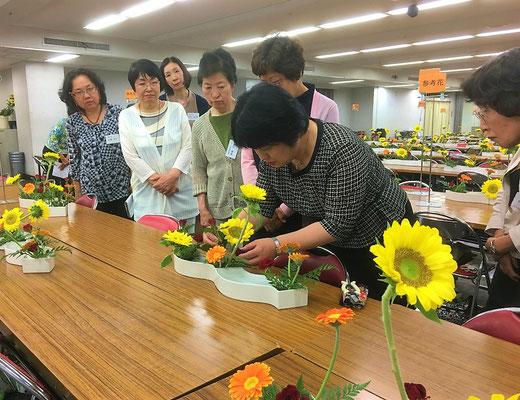 5/25 幹部研修会にて 実技②