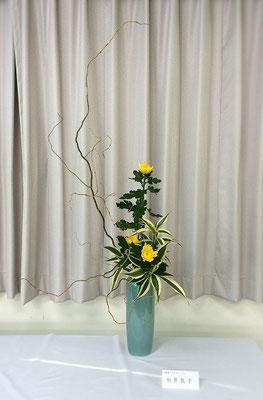 Atsukoさんの作品です。大好き瓶花をいけました。