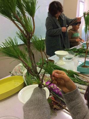 2015.12.28 「お正月の祝い花」