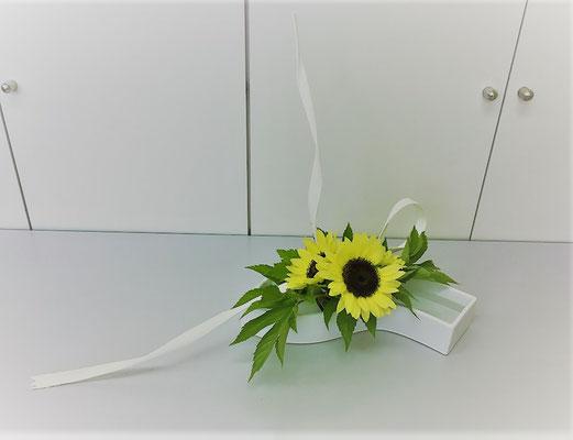 「さわやかな風の中にさそわれるひまわり」 Yukiさんの作品です。