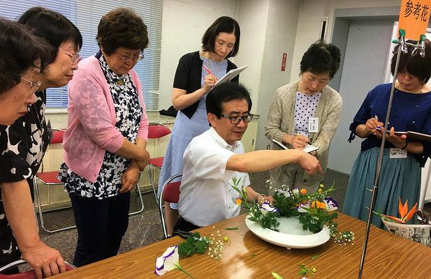 5/26 幹部研修会にて 実技④