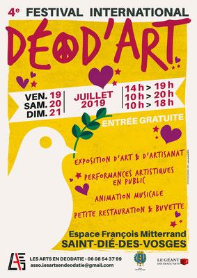 Déod'Art 2019 - L'affiche.  /  The poster.