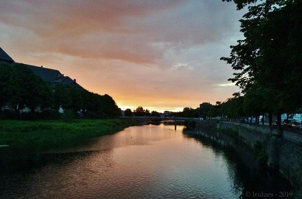 Imaginales 2019 - Encore un beau soir à Epinal.   /   Another nice evening in Epinal.