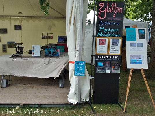 Imaginales 2018 - the Ylsthia stand / le stand Ylsthia
