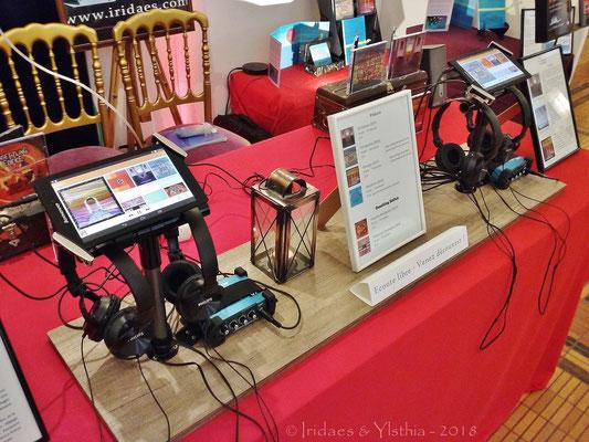 Puteaux 2018 - plus besoin de vous présenter le légendaire système d'écoute... :) / no need anymore to introduce the now legendary listening devices... :)