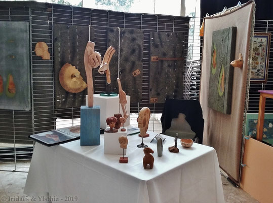 Déod'Art 2019 - Quelques-unes des belles choses que l'on pouvait voir au Déod'Art.   /   Some of the nice things one could admire at the Déod'Art festival.