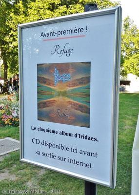 Imaginales 2019 - Troisième fois qu'un de mes CDs était en avant-première aux Imaginales.   /   Third time one of my CDs was premiered at the Imaginales.