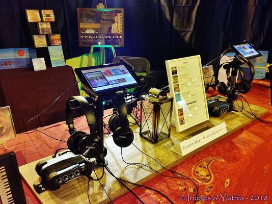 Saint-Prix 2018 : you are now familiar with the good old listening devices, right ? / vous êtes maintenant bien familiarisés avec le bon vieux système d'écoute, n'est-ce pas ?
