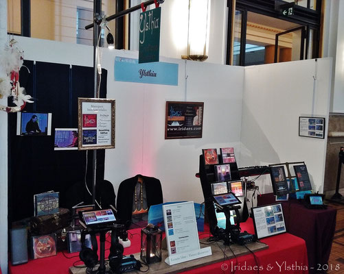 Puteaux 2018 - autre vue du stand Ylsthia / another view of the Ylsthia stand