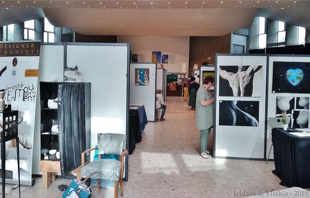 Déod'Art 2019 - Le second étage.  /  The second floor.
