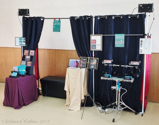 Le stand Ylsthia / The Ylsthia stand   (Cocherel 3.2019)