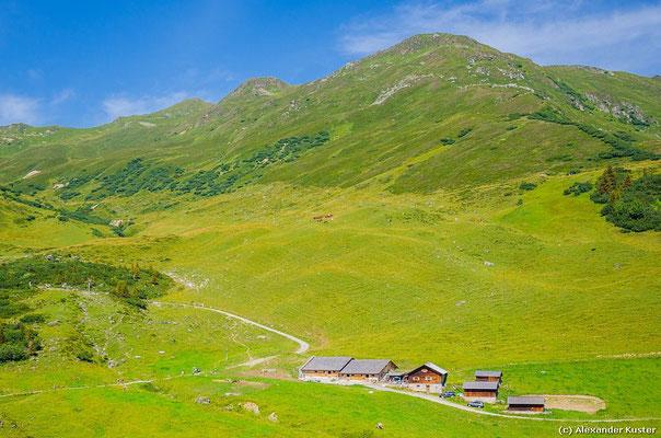 Blick auf die Alpe Latschätz
