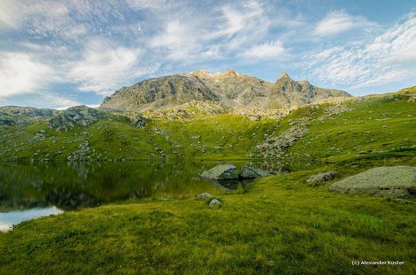 Unterer Vallülasee mit Vallüla