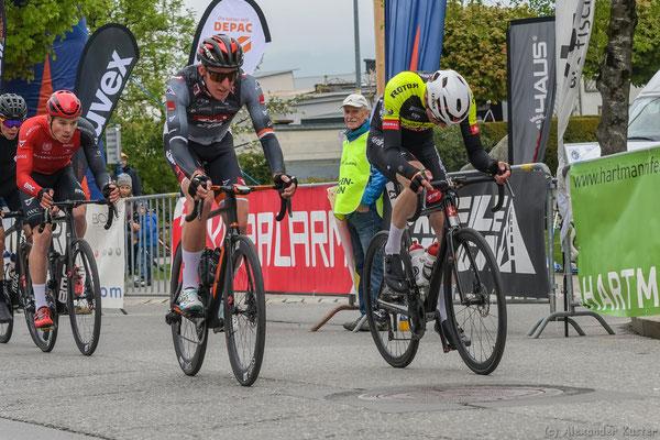 Lukas Meiler gewinnt die 1. Sprintwertung