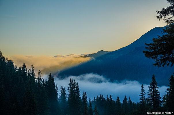 Nebel im Tal