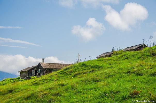 Auf dem Rückweg - Alpe Vollspora