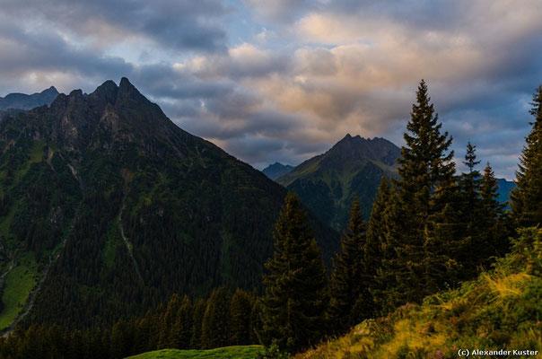 Gargellner Bergwelt im Morgenlicht