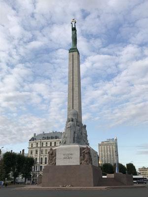 Riga: Freiheitsdenkmal