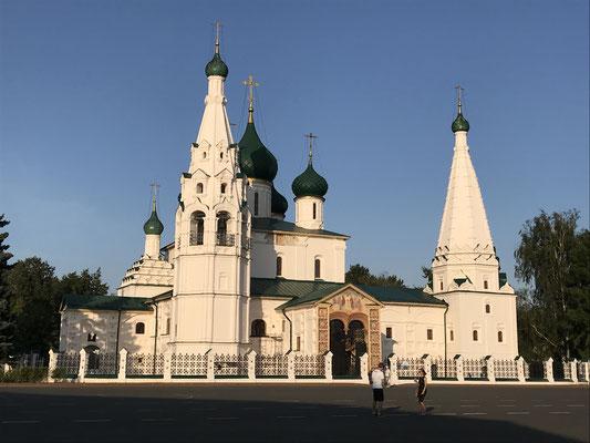 Jaroslavl: Die Elias-Kirche auf dem Roten Platz